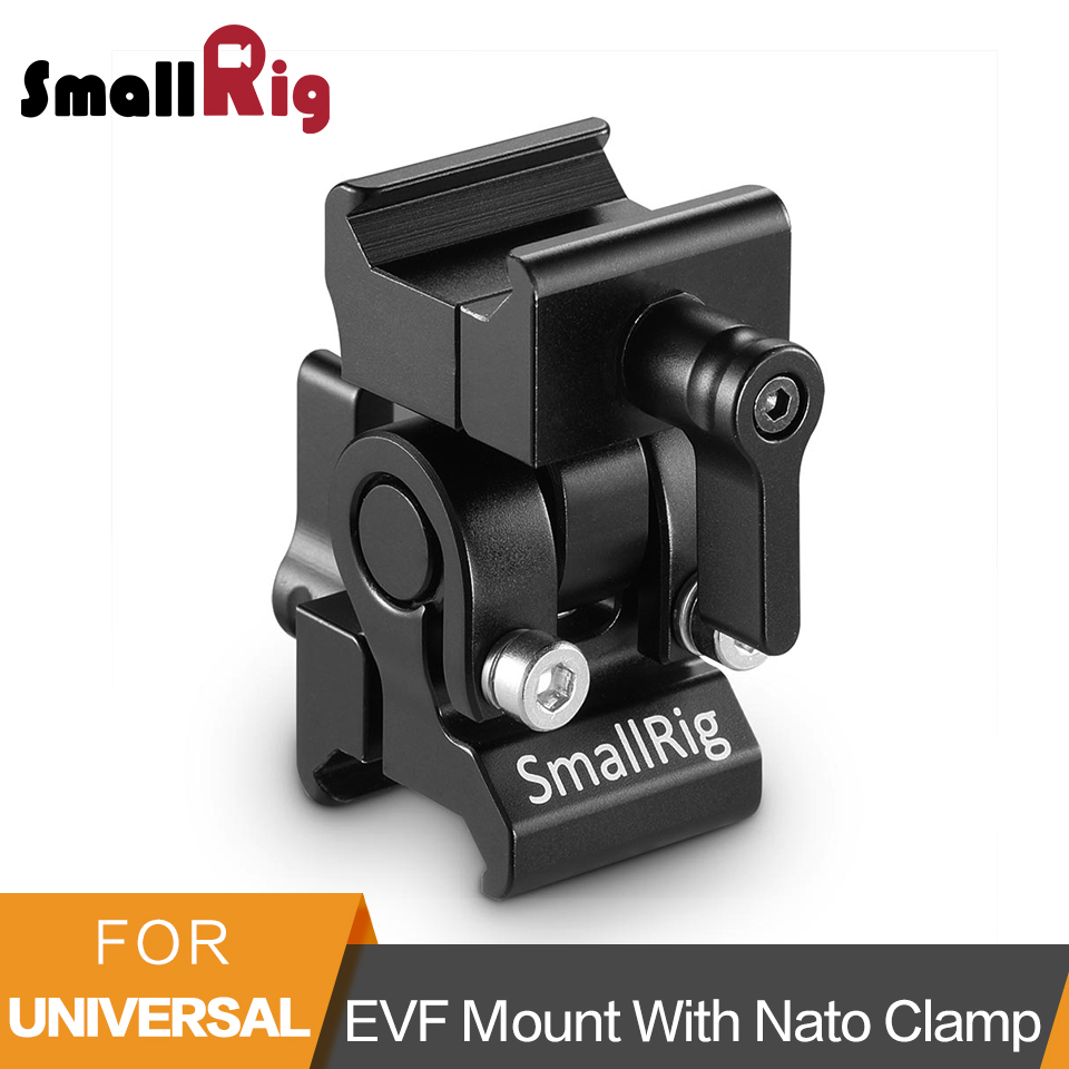 SmallRig Quick Release EVF Mount With Nato Clamp For Universal DSLR Camera 5 And 7 Monitor