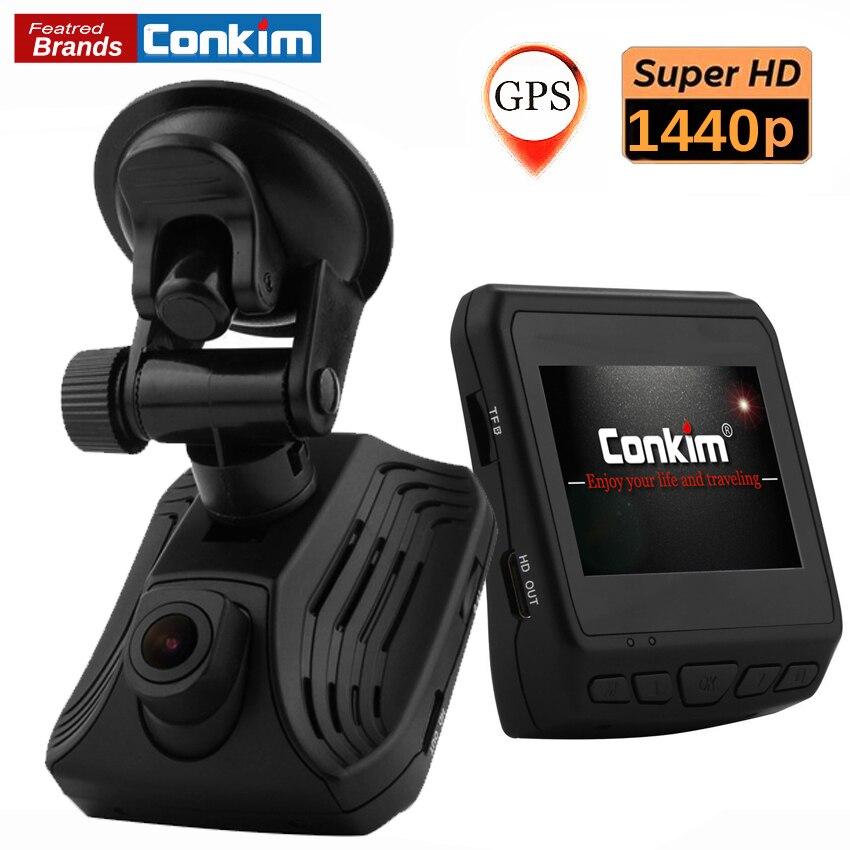 Conkim Dash Camera DAB211 Ambarella A12 1440P Super HD Car Video Recoder 2.3
