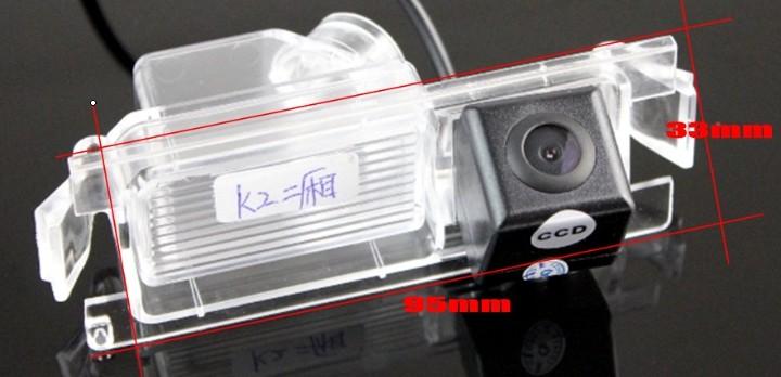 Car Camera For Hyundai Verna  Accent Blue  Fluidic  Solaris  Grand Avega  i25 Rear View Back Up Camera For  RCA size