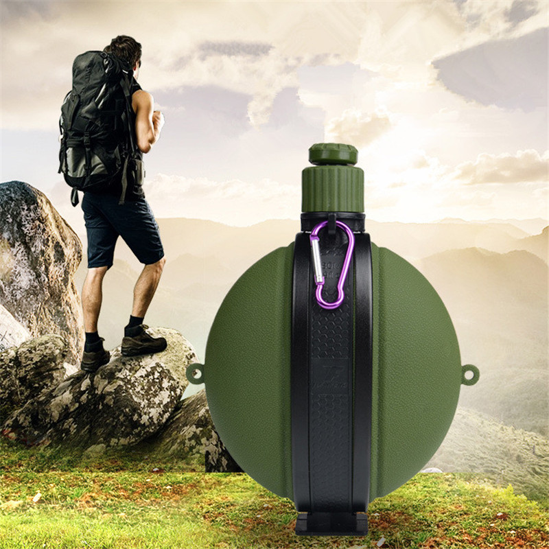 Creative Travel Outdoor Water Bottles Portable Dog Cat: 2017 New Creative 580ML Large Capacity Climbing Camouflage