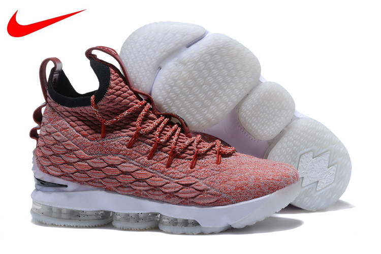259a08f86631d Original New Arrival Nike Lebron 15 LBJ15 Breathable Offical Men s  Basketball Shoes Sports Sneakers Trainers size40-45