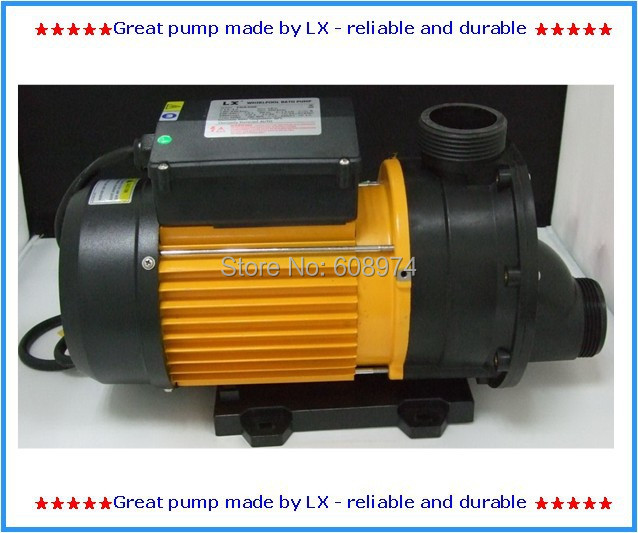 LX TDA200 Hot Tub Pool Pump 2.0HP / 1500W SPA Pump,Whirlpool Spa Pool Pump -1500 Watt -14-16 Jets