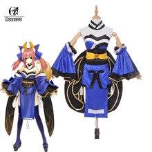 Rolecos fgo tamamo não mae cosplay trajes anime japonês cosplay fate extra trajes fgo conjuntos completos