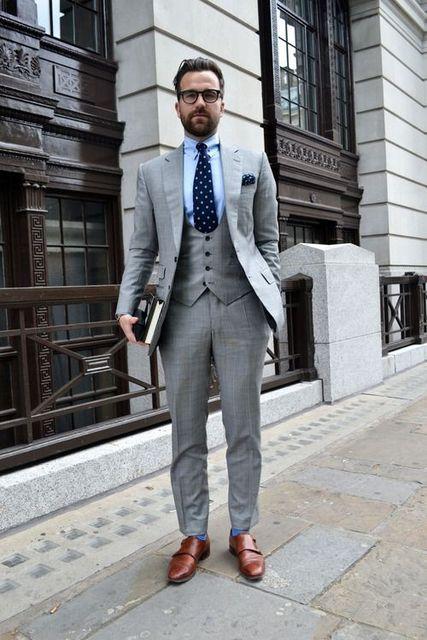 e0de1d8506b5 Custom Made Light Grey Suit Men Groom Wedding Suits Slim Fit 3 Piece Tuxedo  Prom Custom Blazer Terno Masuclino Jacket+Pant+Vest