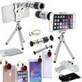 Универсальный Смартфон Камеры Lente Комплект Четыре Высокий Объективы и Мини-Штатив Для Samsung S5 S6 mini S2 A3 A5 A7/Для LG G4/Для Xiaomi
