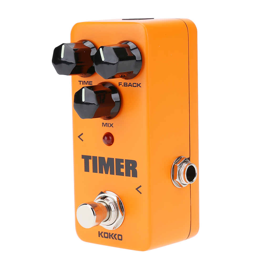 New Portable Classical Digital Delay Effects FDD2 Mini Timer Delay Guitar Effect Pedal Guitar Parts & Accessories High Quality two way regulating lever acoustic classical electric guitar neck truss rod adjustment core guitar parts