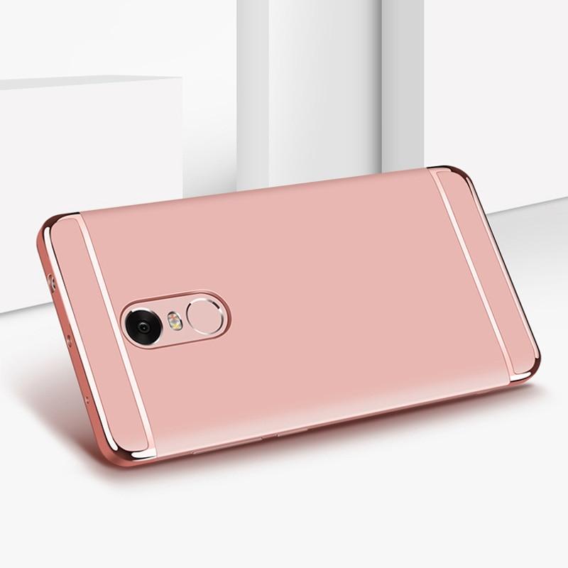 Xiaomi Redmi Note 4X Case 3 in 1 Luxury Ultra Thin Coque - Բջջային հեռախոսի պարագաներ և պահեստամասեր - Լուսանկար 5