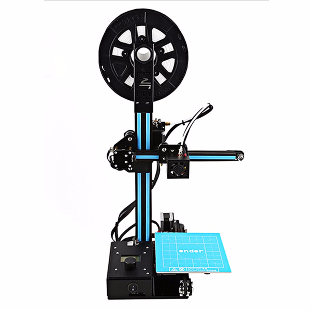 CREALITY cheap Ender-2 3D Printer kit FDM 3D Printer DIY Kit Aluminium Frame With heated bed cost effective in High Quality цены