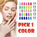 Elite99 2016 The Latest New Arrival 7ML Gel Polish More Colored Avaliable UV LED Gel Nail Polish Pick Any 1 Color From 178