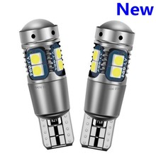 2PCS High Quality T10 W5W Super Bright 3030 LED Car Interior Reading Dome Light Marker Lamp 168 194 LED Auto Wedge Parking Bulbs(China)
