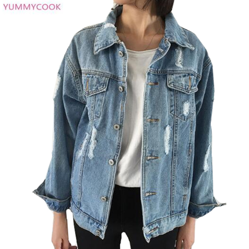 color new yummycook 15 trou single jean grande femmes photo base casual l che veste r tro taille. Black Bedroom Furniture Sets. Home Design Ideas