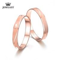 Xxx 18 К розового золота Пару Кольцо из чистого золота au750 кольцо хвост кольцо обручальное Для мужчин и Для женщин ювелирные изделия подарок дл