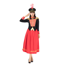 2018 The Nutcracker And Four Realms Clara Cosplay Costume Tops Dress Hat Full Set Women Halloween Christmas Carnival Party