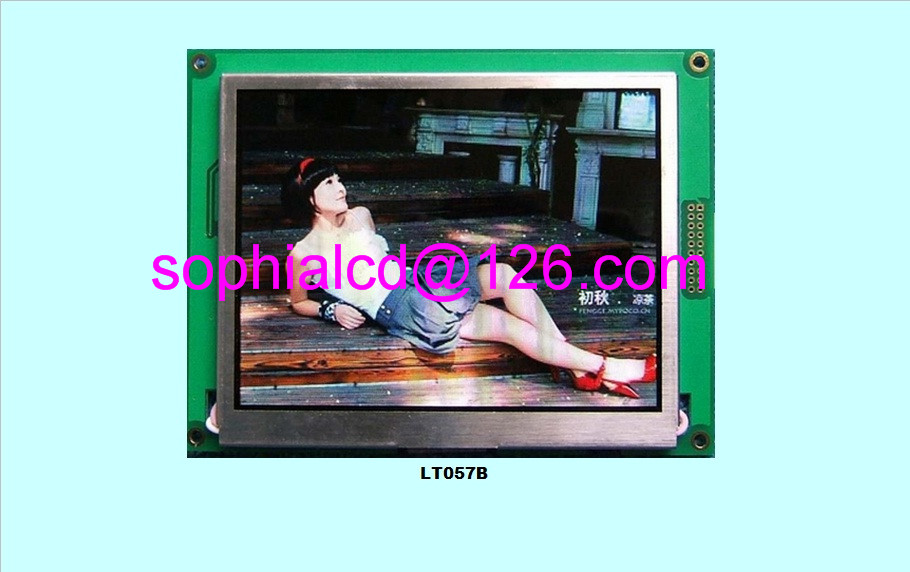 5.7 inch TFT 320*240 with control RA8875  touch screen  free shipping ra8875l3n ra8875l3 ra8875 tqfp100