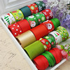 New Christmas Series 22YDS Mixed 22 Style Diy Hair Accessory Material Accessories Bow Hairpin Cotton Lace