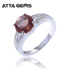 7cc13391277d Zultanite anillos de plata esterlina para mujer boda Compromiso 2 quilates  creado Zultanite cambio de Color piedra estilo especi.