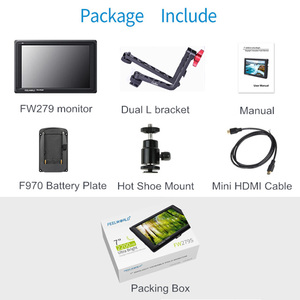 Image 5 - Feelworld FW279L 2200nits 7 Inch IPS Camera Field Monitor 4K HDMI 1920X1200 LCD Monitor for DSLR Cameras with Bracket