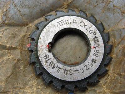 Set 8Pcs Module 0.4 PA20 Bore16 1#2#3#4#5#6#7#8# Involute Gear Cutters M0.4 set 8pcs module 3 pa20 bore27 1 2 3 4 5 6 7 8 involute gear cutters m3