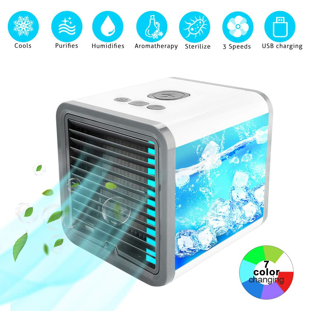 Best Selling 2019 Products Portable Air Conditioner Fan Mini Evaporative Air Circulator Cooler Humidifier Support Dropshipping