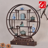 Home Decoration Wenge Display Stand Rosewood Curio Box Miniatures Mahogany Table Tab Seri Wooden Office Desktop