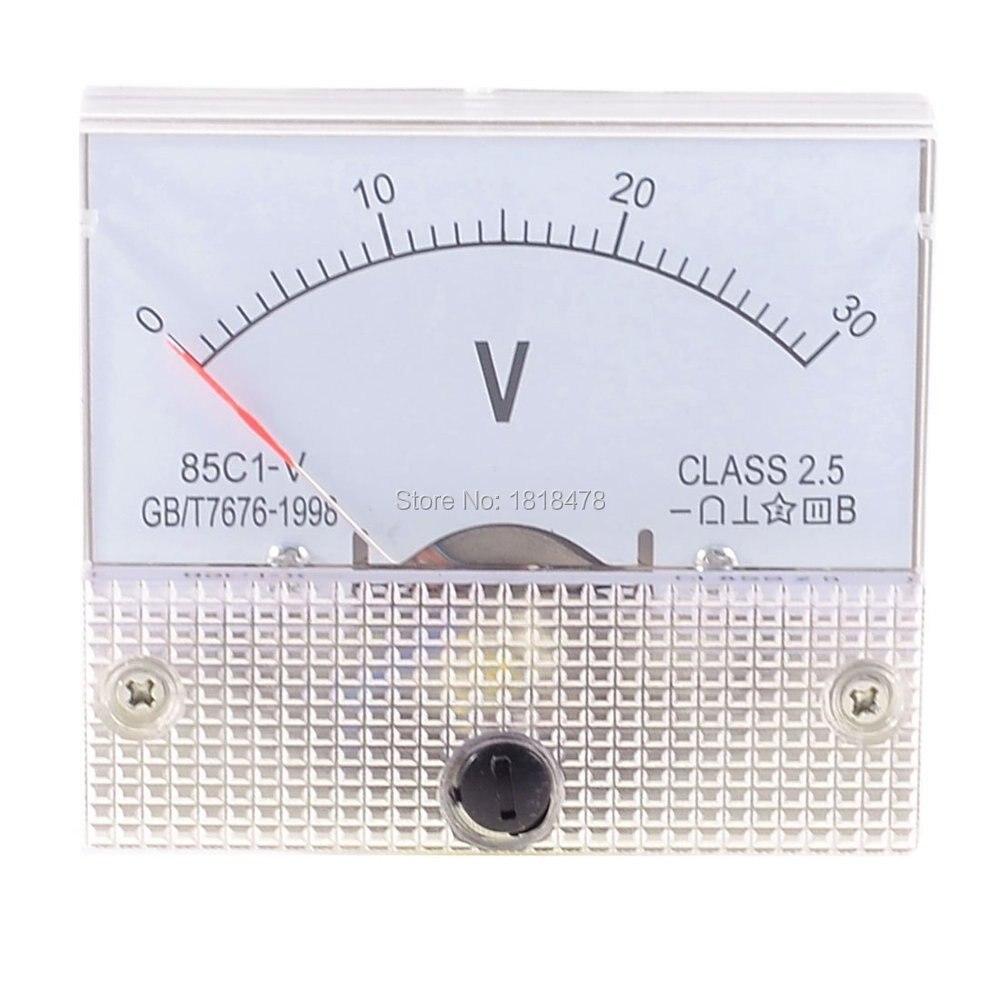 DC 85C1 New Analog Volt Voltage Panel Meter Voltmeter 0~20V