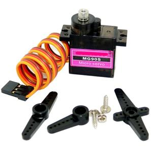 Classic servos 9g SG90 MG90S For RC Planes Fixed wing Aircraft model telecontrol aircraft Parts Toy motors(China)