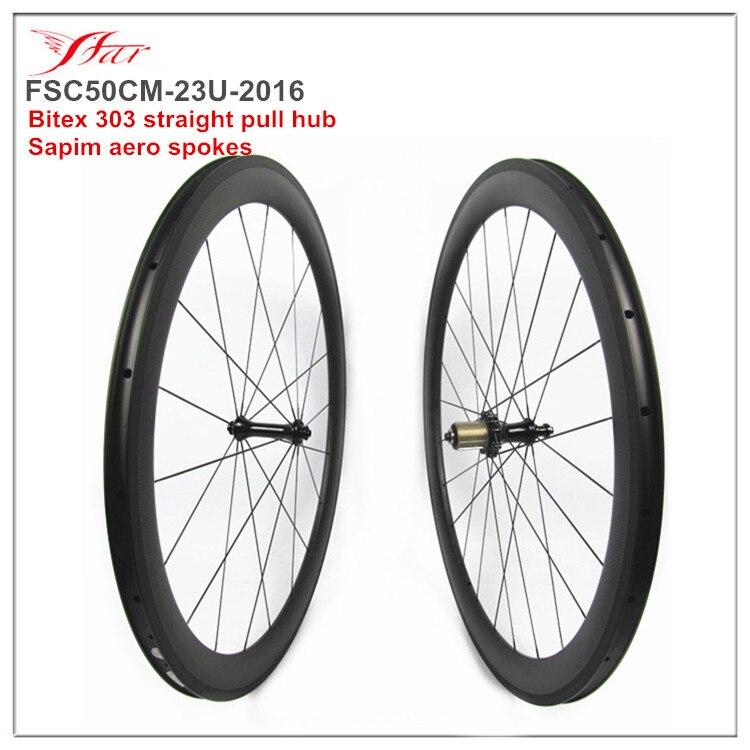 Superlight carbon clincher bicycle wheels 50mm 38mm 60mm 88mm 23mm ruedas carbono carretera 700C farsports