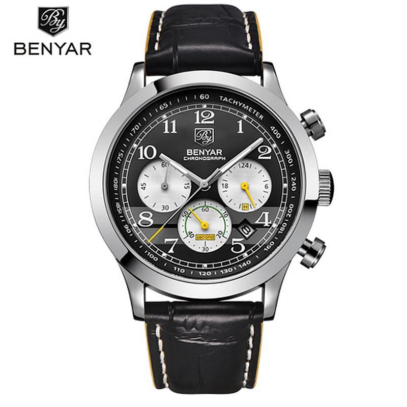 2019 BENYAR Sport Relojes para hombre Marca de lujo de lujo - Relojes para hombres