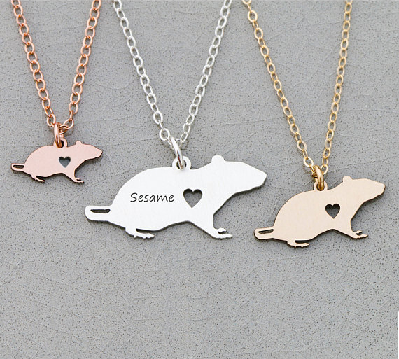2018 New Personalized Cute Copper Rat Charm Necklace Women Animal Jewelry Aliexpress Top-selling Accept Drop Shipping YP60702018 New Personalized Cute Copper Rat Charm Necklace Women Animal Jewelry Aliexpress Top-selling Accept Drop Shipping YP6070