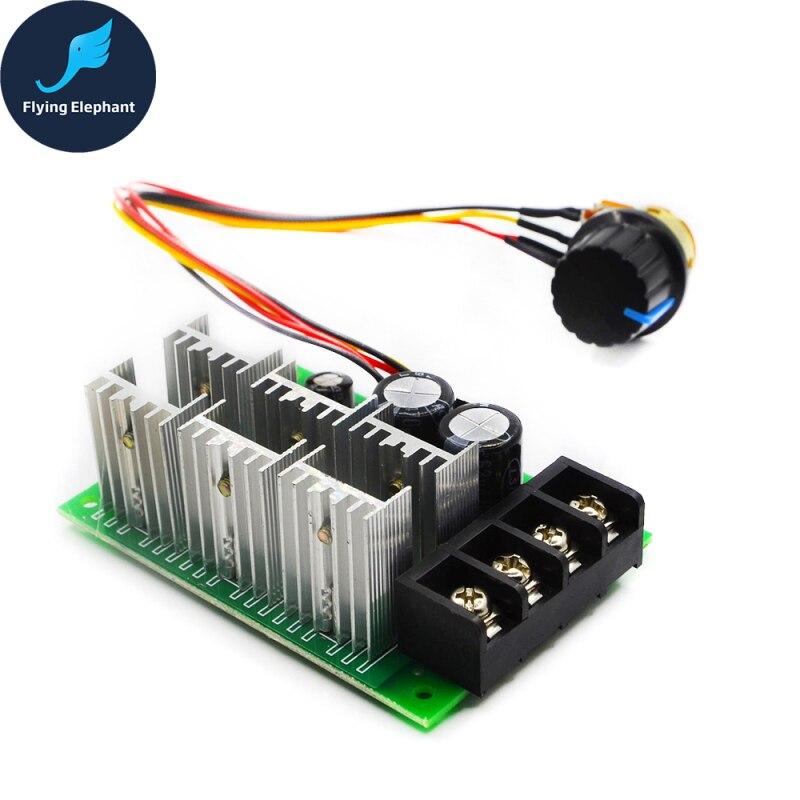 PWM DC Speed Motor Controller 12v 24v 36v 48v 40A For Brush Motor Control 0% - 100%