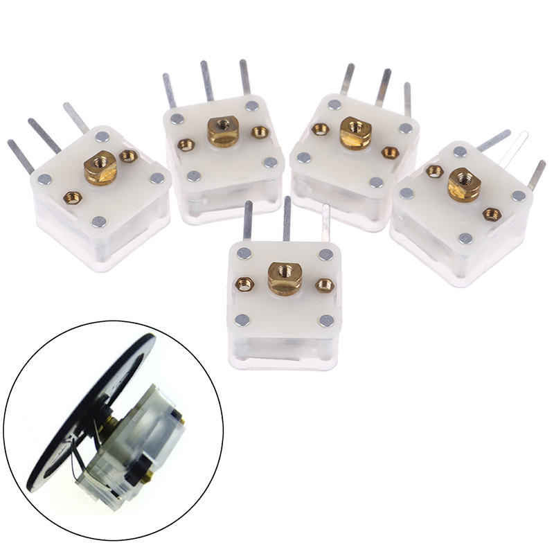5Pcs Duplex 223p 60pf/140pf 2.1mm Hole Shaft Radio Variable CapacitorS!
