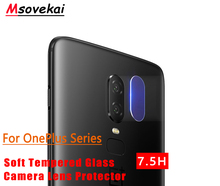 For OnePlus 7 Pro 6 6T Six A6000 OnePlus 5 5T 3 3T A3000 Back Camera Lens Tempered Glass Clear Transparent Screen Protector Film pixco lens adapter ring suit for canon ef e os to sony nex a5100 a6000 a5000 a3000 5t 3n 6 5r f3 7 5n 5c c3 3 5