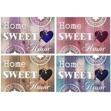 5d diy diamante bordado casa doce casa pintura diamante ponto cruz quadrado completo strass mosaico decoração presente