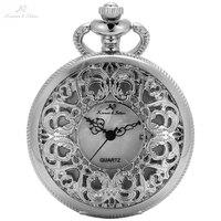 KS Марка Серебряный Перламутр птица цветок Керамика Canvas Hunter кварца Япония Movt кулон цепи брелок карманные часы подарок /KSP079