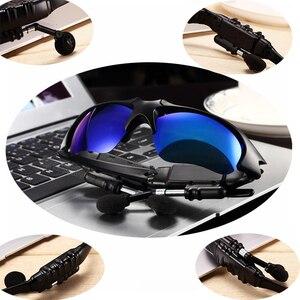Image 3 - 블루투스 선글라스 야외 스마트 안경 블루투스 선글라스 스마트 폰용 마이크가있는 무선 헤드셋 스포츠