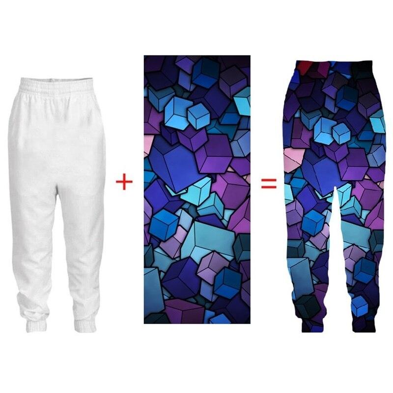 Dropshipping Mens Factory Customize Trousers 3d DIY Custom Polyester Spring Autumn Sweatpants Jogger Pants Men Hip Hop Pant