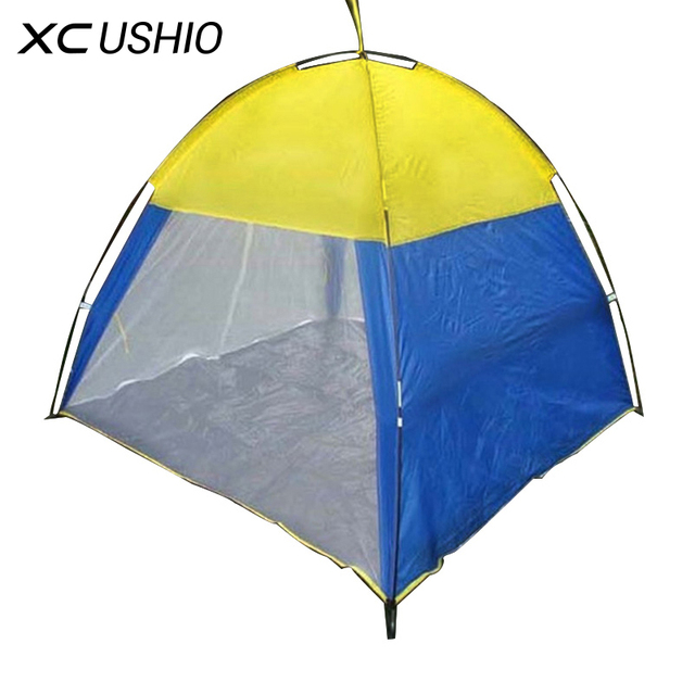Outdoor Summer Beach Tent Camping Hunting Anti Mosquito Net Indoor Garden Tent Tabernacle 3-4 Persons Breathable Tent