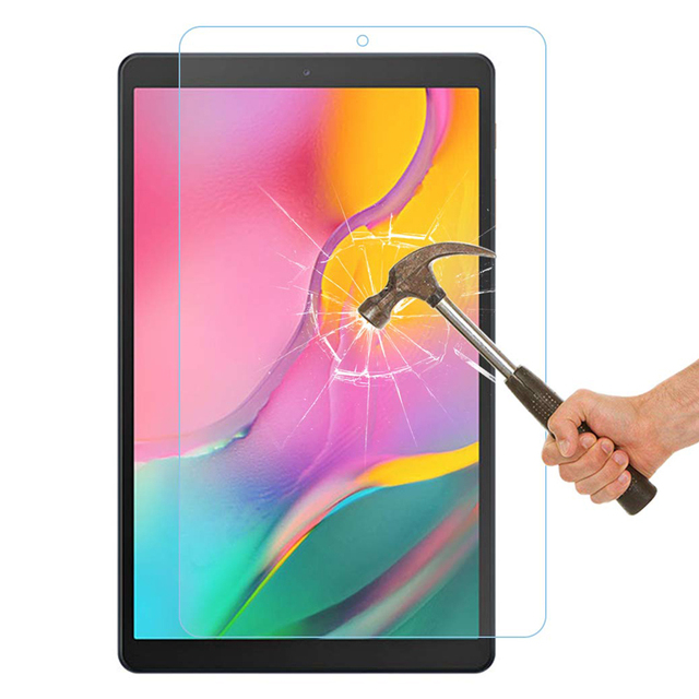 Tempered Glass Screen Protector for Samsung Galaxy Tab A 10.1 2019 T510 T515 SM-T510 SM-T515 Scratch Proof Protective Glass Film 1