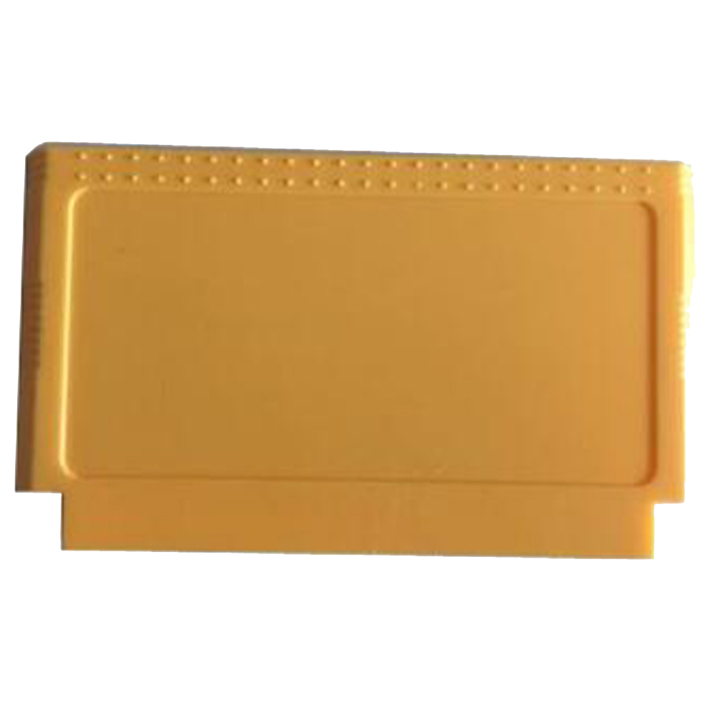 10PCS For NES FC Replacement  Game Cartridge Game Card Shell 8-bit Game Card Shell Yellow/blue