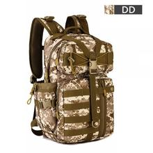 Outdoor Tactical Backpack 1000D Waterproof Nylon Army Shoulder hunting Hiking  Camping backpack Multi-purpose Molle Sports Bag цена 2017