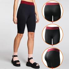 Sexy Yoga Shorts popular solid color pocket Breathable stitching running sports yoga shorts Women wearing yoga shorts 4az