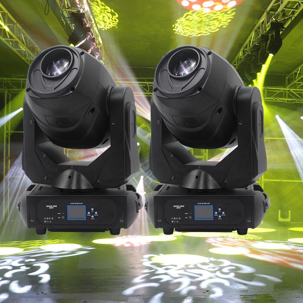 2 pcs/lot led 230 w spot faisceau lavage dans n'importe quelle couleur led motorisée focus incroyablement puissant et flexible luminaire