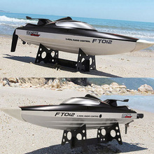 Best Price Hot sale FT012 2.4G Brushless RC Remote Control Racing Boat Model Speedboat High Speed 45km/h RC Boat with Water Cooling Systerm