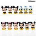 Mickey Mouse Minnie Donald Duck Figura Coleção Ação PVC Modelo Brinquedos Crianças Brinquedos Boneca Presente para As Crianças 12 pçs/lote CSDB4