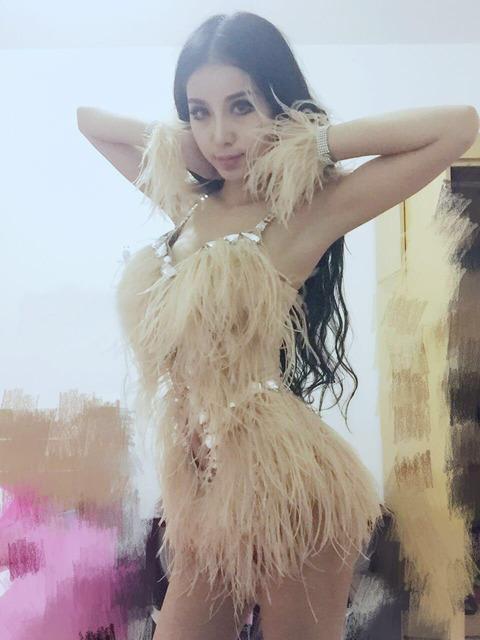 Outfit Borlas Nightclub Sexy Cantora Dj Jazz Roupas Vestido Mulheres Siameses Macacão Figurinos Para Os Cantores