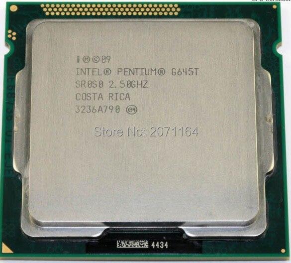 Free shipping for Intel Pentium G645T 1155 pin 35w 2.5G low power desktop PC CPU