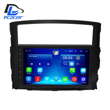 32G ROM android 6.0 car gps multimedia video radio player  in dash for MITSUBISHI PAJERO V97 V93 2013-2016  navigation stereo