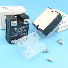 Тайвань PQLYT качество на самом деле Макс. 40A SSR вход 3-32VDC выход 24-480VAC твердотельное реле