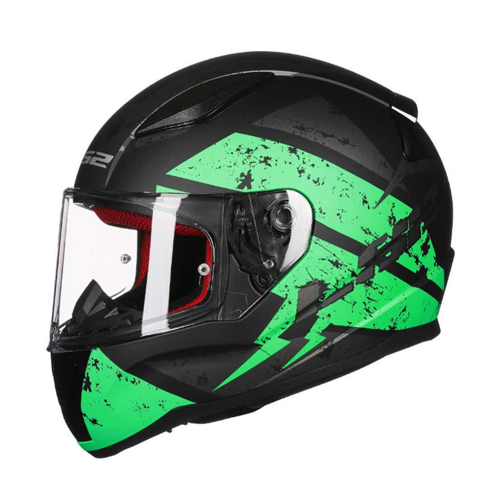 LS2 FF353 Corrida Rosto Cheio Capacete Da Motocicleta Capacete Capacetes Kask Casque Casco Moto Leme Turnê Kaski Motocyklowe