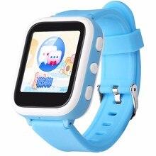 Turnmeon touchscreen 1,44 «smart watch kinder kinder armbanduhr mit sim einbauschlitz bluetooth positionierung sos anruf smartwatch a1